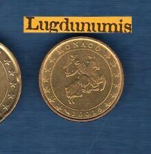 Monaco 2001 10 centimes d'euro SUP SPL Pièce neuve de rouleau - Monaco