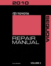 2010 Toyota Sequoia Shop Service Repair Manual Book  Volume 2 Only