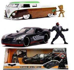 Jada Toys Marvel / DC Figure & Die-Cast Model Batman, Groot, Venom 1:24
