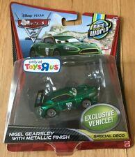 Disney Pixar Cars 2 Nigel Gearsley with Metallic Finish -Toys R Us Exclusive NIB