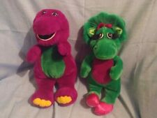 Barney & Baby Bop, 90's nostalgia toy, Lyons Group, Tv Characters, set, used