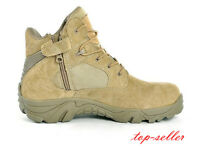 Men's Military Tactical Lace Up Combat Hiking Desert Outdoor Ankle Boots Shoes