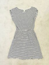 H&M Short Sleeve Mini Striped Dresses for Women