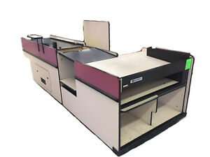Reynolds Data 3000 Checkout Lanes Counters With Bagging Stations READY TO SHIP