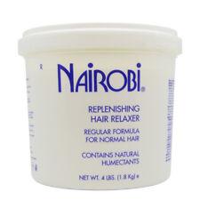 Nairobi Replenishing Hair Relaxer Regular Formula 4lb with Free Nail File