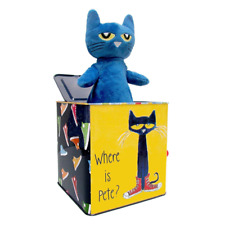 Pete The Cat Musical Toy - Jack In The Box Pop Goes The Weasel Classic Baby Toy