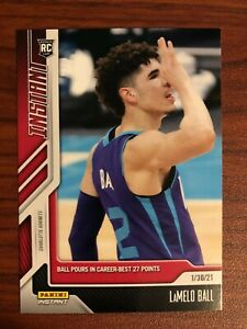 2021 2020-21 Panini NBA Instant LAMELO BALL Rookie Card RC #59 IN HAND /1227