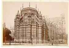 G.W.W. Angleterre, Henry VII Chapel, Westminster Abbey  Vintage albumen print