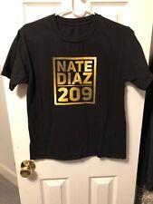 Nate Diaz 209 UFC Shirt Size Small
