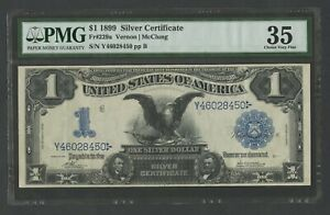 FR229a $1 1899 S/C DATE RIGHT RARE (273) KNOWN PMG 35 CHOICE VF WLM8689