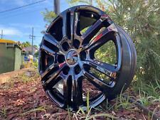 Genuine Ford Ranger Wildtrak Wheels Gloss Black 18 inch set of 4 Wheels