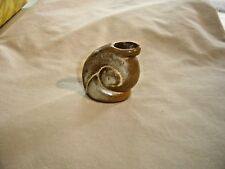 Frankoma Desert Gold Small Snail Jug 1940's Ada Clay 9934