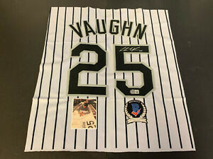 Andrew Vaughn Chicago White Sox Autographed Signed Jersey SWATCH 16x20