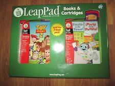 LEAP FROG LEAP PAD BOOKS & CARTRIDGES Toy Story 2 Fiesta in the Town NEW IN BOX