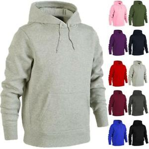 Urban Road Heavy Blend Plain Hoody Men Womens Hooded Sweatshirt Hoodie Top