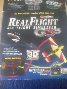 Great Planes RealFlight RC Flight Simulator G3.5 Futaba InterLink ControllerOnly
