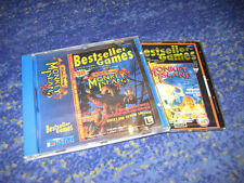 MONKEY ISLAND 1 + 2 Lucas Arts VISTA + 7 + 8  deutsche Versionen PC