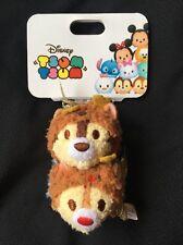 Disney Store Japan: Christmas Tsum Tsum Keychain Chip and Dale [DSJ]