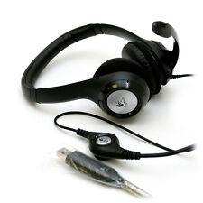 N Logitech H390 ClearChat Comfort USB Headset with Microphone