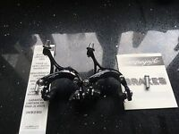 2014 Campagnolo Veloce Dual Pivot Road Bike Brake Calipers Black OEM RRP £42.99