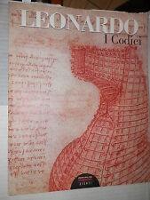 LEONARDO I CODICI Edoardo Villata Corriere della Sera 2006 libro arte saggistica