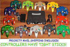 Nintendo 64 Console + 1 Original Controller +  FAST SHIPPING! Tested & Working!