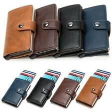 Men RFID Blocking Slim Wallet Leather Money Clip Credit Card ID Holder Purse H