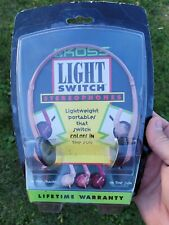Vintage Koss 1980s Headphones New old stock, Color change Light Switch Rare nos