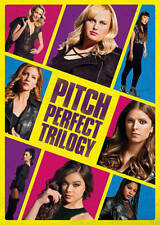 Pitch Perfect Trilogy (DVD) New W/ Slipcover - Free Shipping