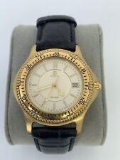 Vintage rare Men's NOBLIA 12 METER 0410-C40108 K gold filled Sports wristwatch