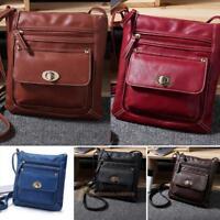 Women Leather Handbag Shoulder Bag Lady Messenger Crossbody Satchel Tote Purse
