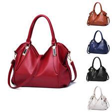 Women Faux Leather Handbags Cross Body Shoulder Messenger Satchel Tote Bag Purse
