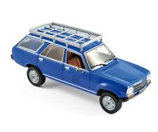 Norev Peugeot 504 Break Dangel  blau 1:43