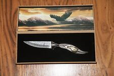 Collectors Eagle Knife with Display Case
