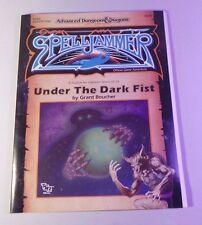 Under the Dark Fist, SJA$ - AD&D 2nd Edition, Advanced Dungeons & Dragons NM-
