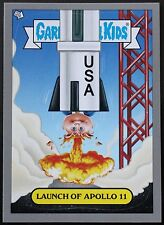 GARBAGE PAIL KIDS BNS 1 ADAM BOMB THROUGH HISTORY SILVER card #9