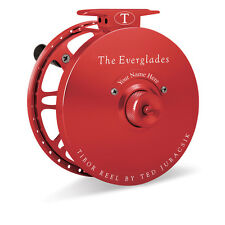 NEW TIBOR EVERGLADES CRIMSON 7/8/9 FLY FISHING REEL FREE $100 LINE SHIPPING
