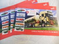 ** Herpa Cars & Trucks News 11-12 2017 Brochure various Scales