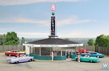 HO Scale Walthers Cornerstone 933-3474  Donnie's Drive-In -- Kit