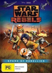 Star Wars Rebels Spark Of Rebellion DVD - NEW+SEALED