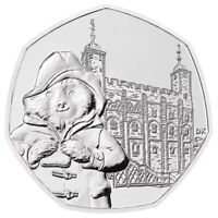 50p Coin Paddington Bear at the Tower of London BRIGHT UNCIRCULATED 2019