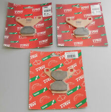 Brake Pads Front+Rear Quad Smc Jumbo 320 Sinter TRW Brake Pads