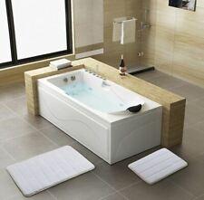 Memory Foam Bath Mat Rug Super Absorbent Machine Washable 2 piece Set - Fast Dry