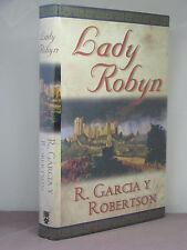 1st, signed by author, Errant Knight 2:Lady Robyn by R Garcia y Robertson (2003)