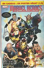 ~+~ MARVEL HEROES n°4 ~+~ COLLECTOR EDITION * NEUF S/BLISTER + POSTER