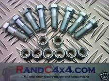 Land Rover Defender Prop Shaft Nut & Bolt Set x 8 PB8