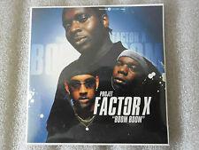 CD-PROJET FACTOR X-BOOM BOOM-FLEUR DU BETON-UN EMPIRE-(CD SINGLE)-2002-3 TRACK