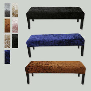 1PC Stool Protector Anti-dirty  All-inclusive Velvet Fabric Piano Chair Cover AU