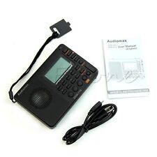 Portable Digital Tuning Lcd Receiver Tf Mp3 Rec Player Fm Am Sw Full Band Radio