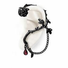 Alchemy Gothic Rose Of Passion Pewter Ear Wrap BRAND NEW